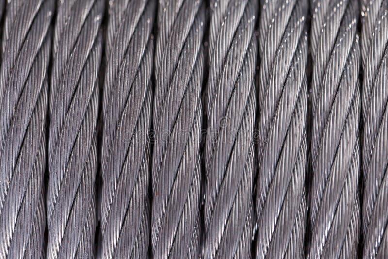 Staalkabel Textuur stock foto