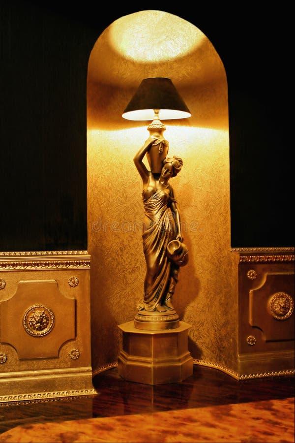 Staand Lamp Stock Fotografie