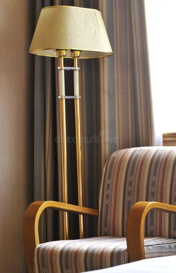 Staand lamp stock afbeelding