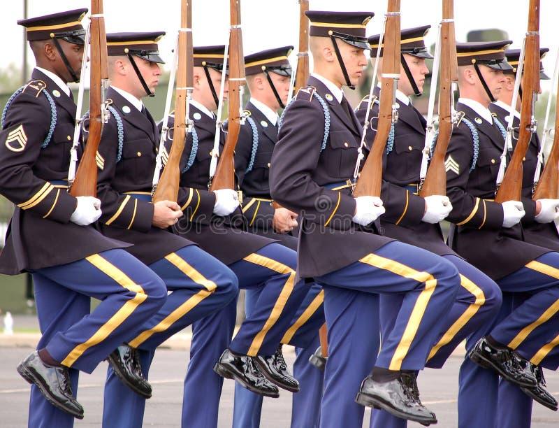 Staat-Armee-Ehrenabdeckung stockbild