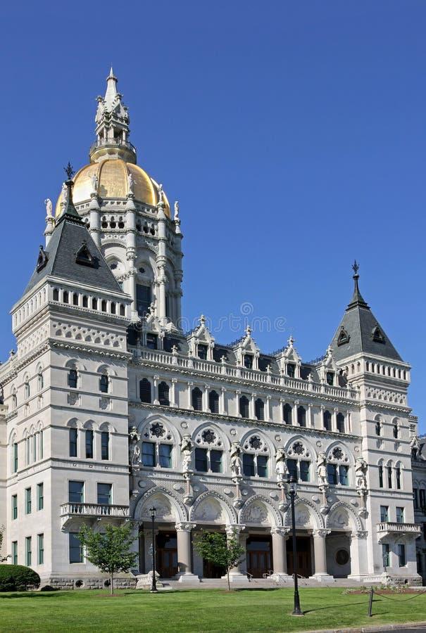 Staat Connecticut-Kapitol stockfotos