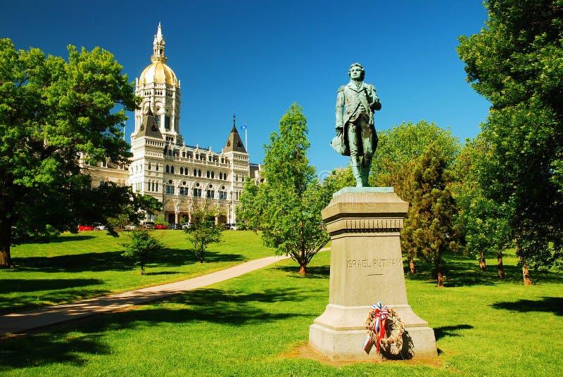 Staat Connecticut-Kapitol stockfoto