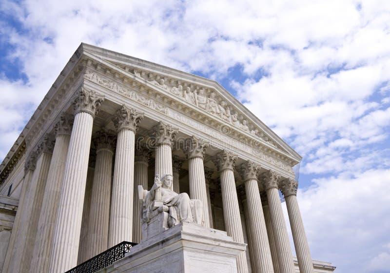 Staat-Höchstes Gericht lizenzfreies stockbild