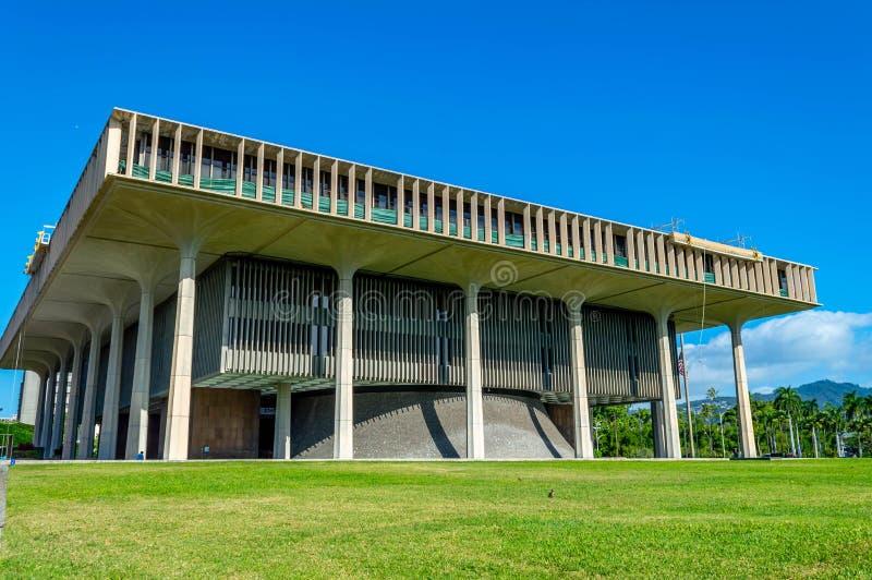 Staat Hawaiis-Kapitol lizenzfreie stockfotos