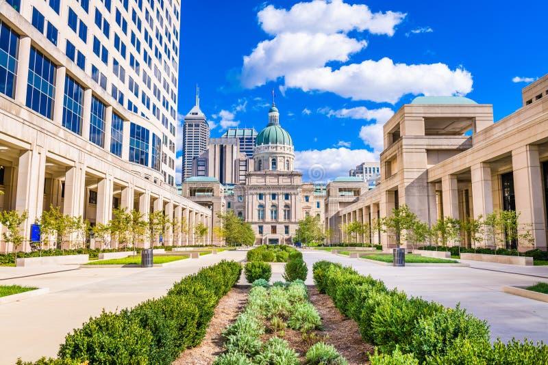 Staat Indiana-Kapitol-Gebäude stockfotografie
