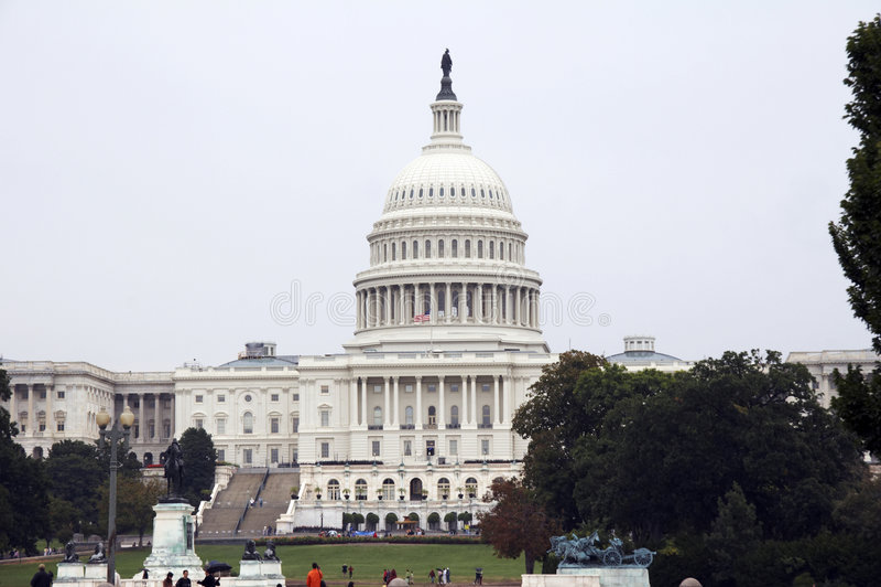 Staat-Kapitol, Washington DC lizenzfreies stockbild
