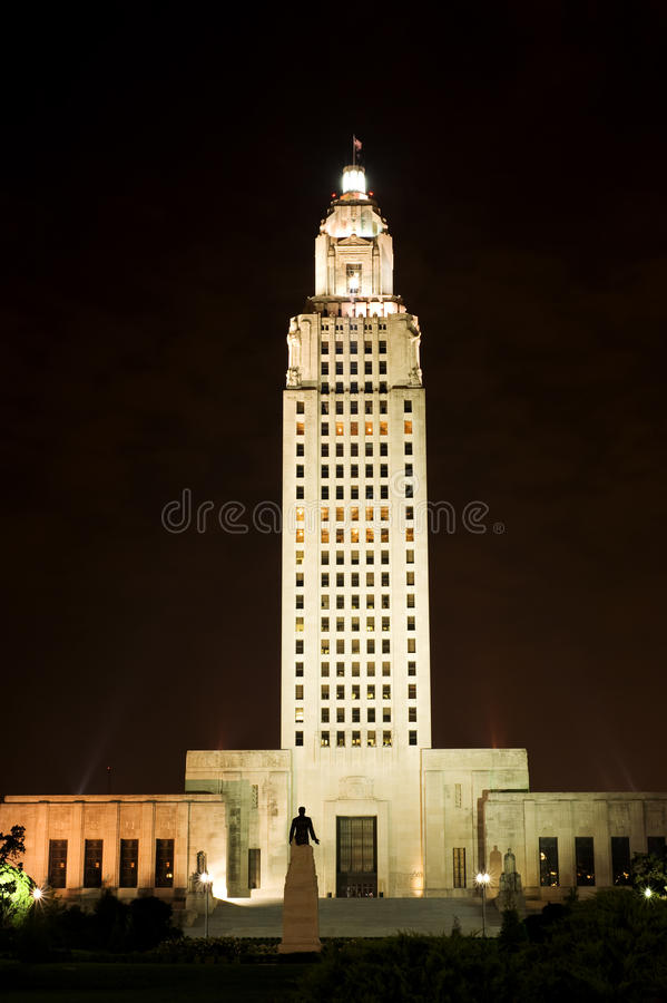 Staat Louisiana-Kapitol lizenzfreie stockfotografie