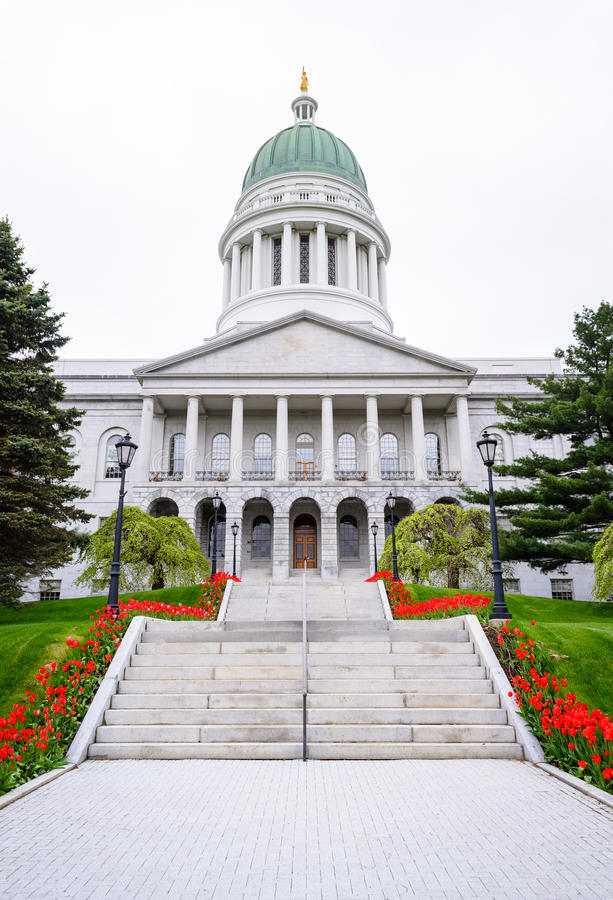 Staat Maine-Haus lizenzfreie stockbilder