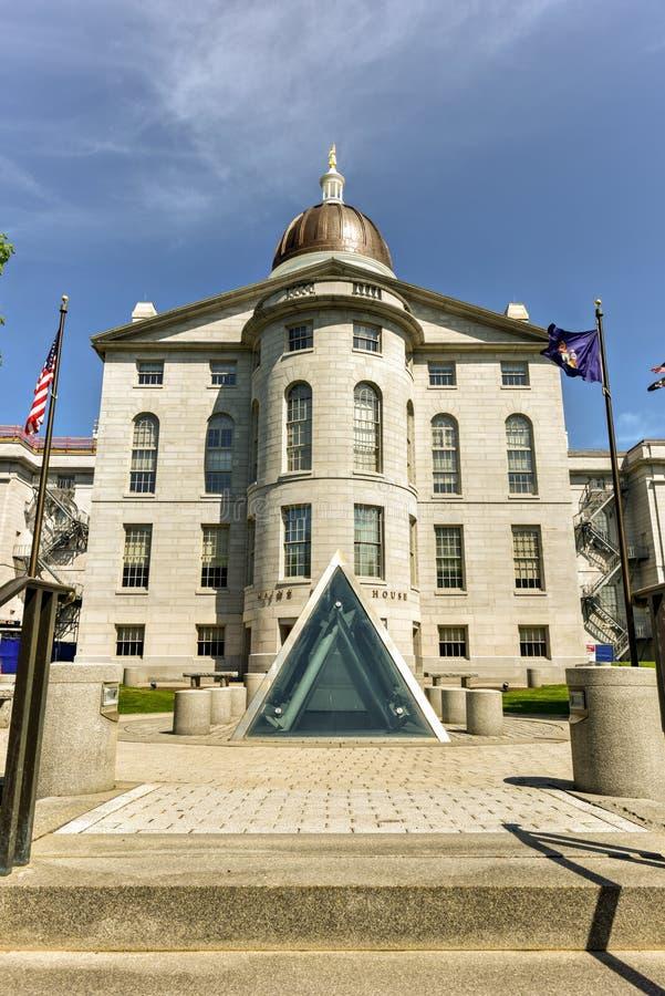 Staat Maine-Haus stockfotos