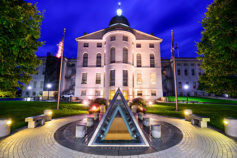 Staat Maine-Haus lizenzfreies stockbild