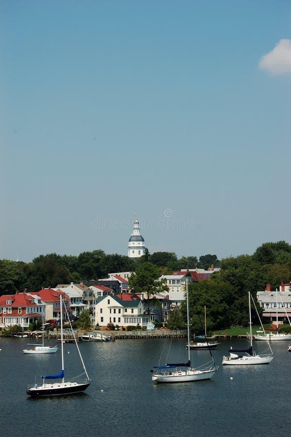 Staat Maryland-Haus stockfotos