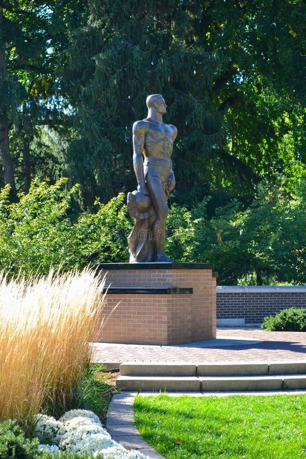 Staat Michigan-Universitätsgelände lizenzfreie stockbilder
