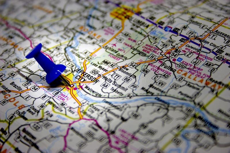 Download Staat Missouri-Kapital stockfoto. Bild von karte, zieleinheit - 26578