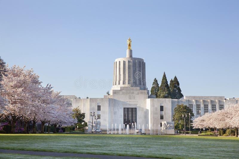 Staat Oregons-Kapitol stockbilder