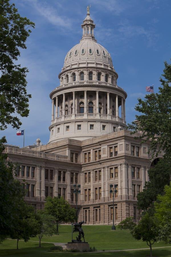 Staat Texas-Kapitol stockfotos