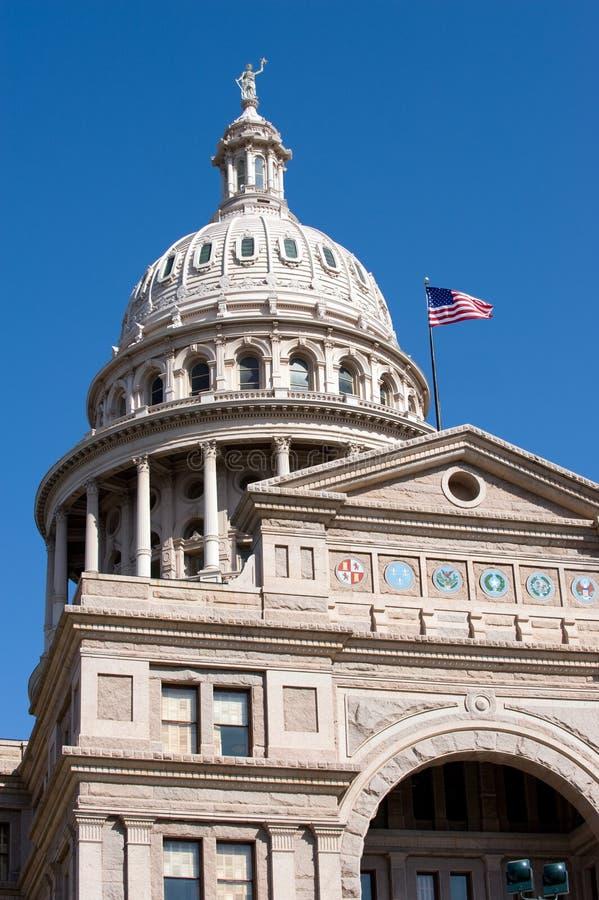 Staat Texas-Kapitol stockfotografie