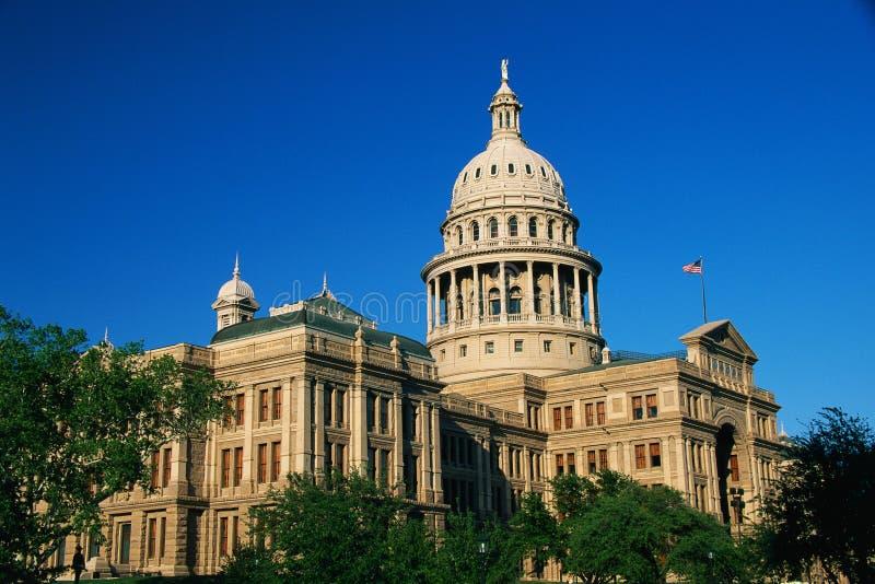 Staat Texas-Kapitol-Gebäude stockbilder