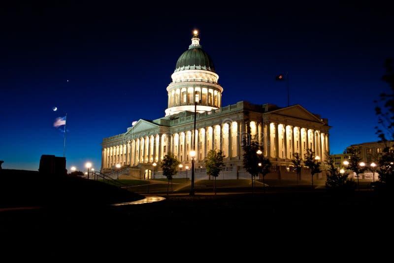 Staat Utah-Kapital stockfotos
