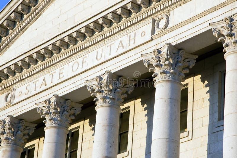 Staat Utah-Kapitol lizenzfreie stockfotografie