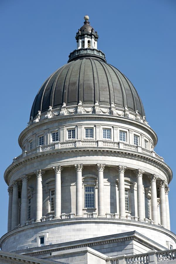 Staat Utah-Kapitol-Haube lizenzfreie stockfotos