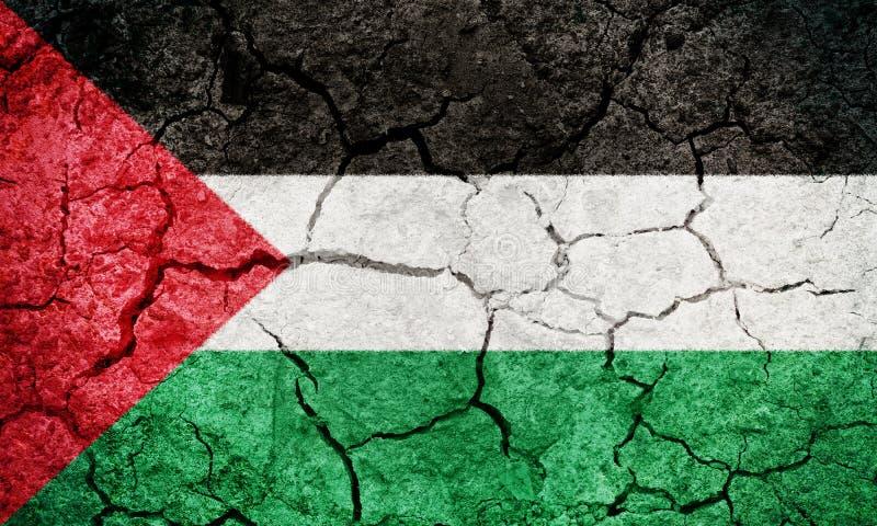 Staat van de vlag van Palestina vector illustratie