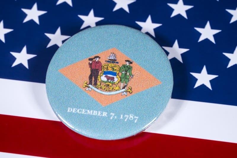 Staat van Delaware in de V.S. royalty-vrije stock afbeeldingen