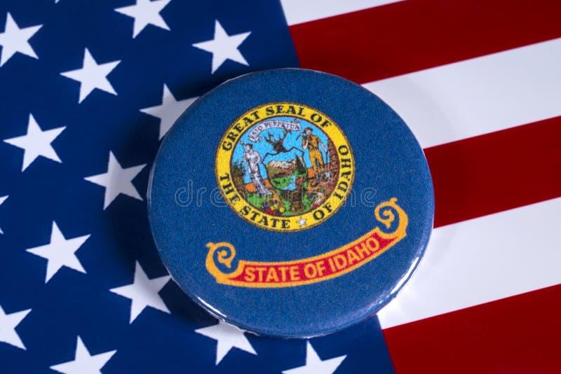 Staat van Idaho in de V.S. royalty-vrije stock fotografie