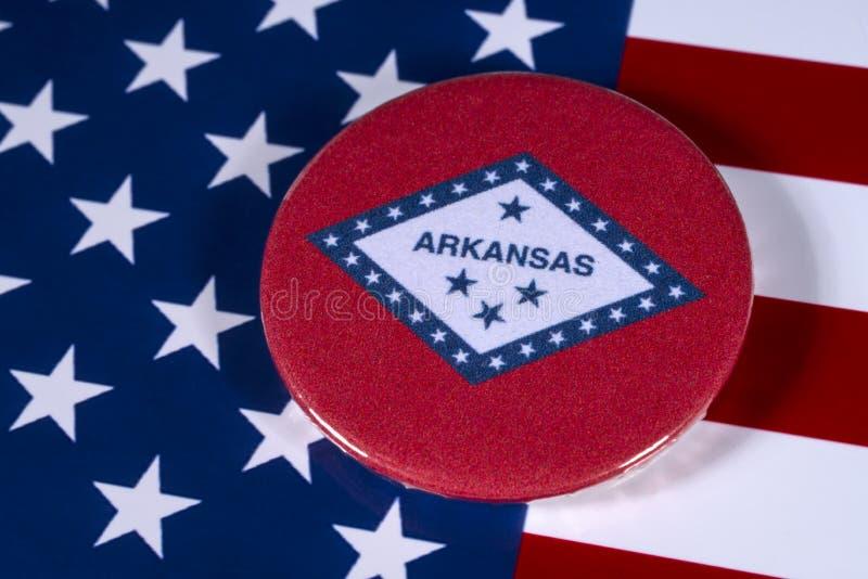 Staat von Arkansas in den USA stockfotos