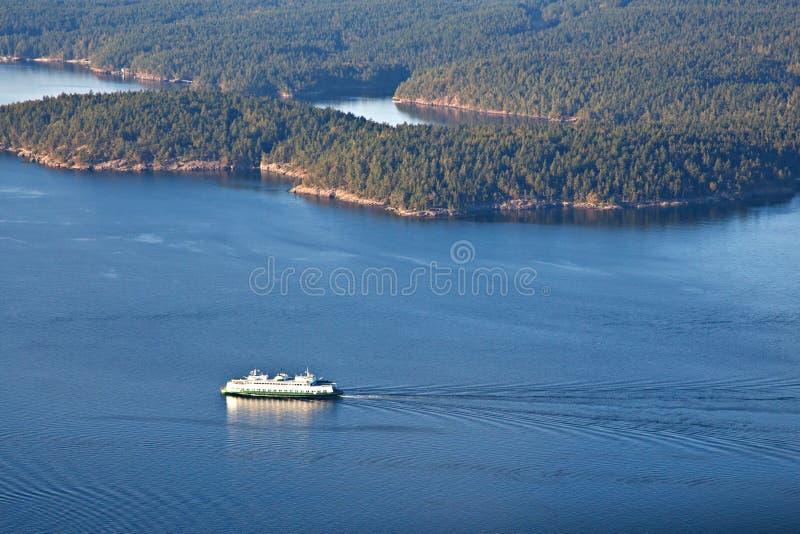 Staat Washington-Fähre stockfoto