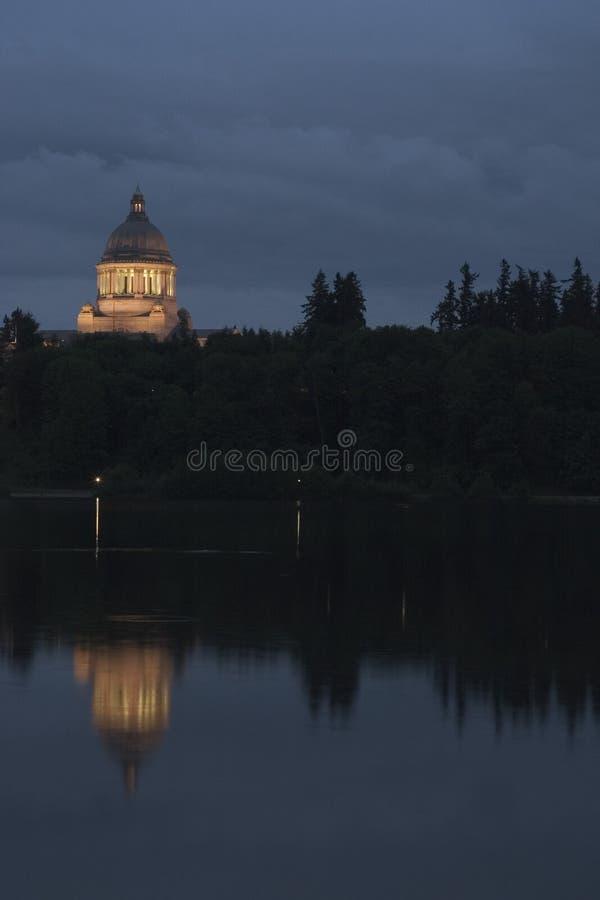 Staat Washington-Kapitol-Bau lizenzfreie stockfotos