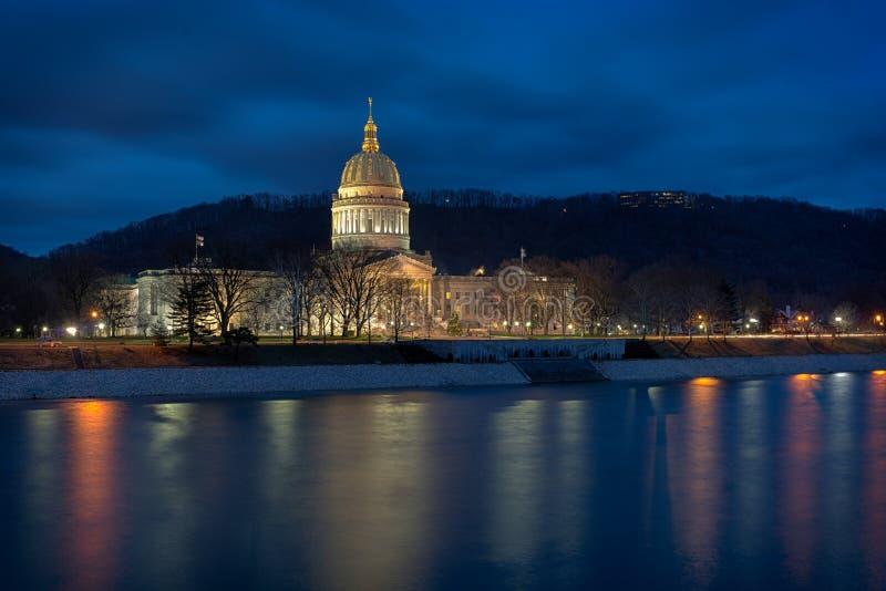 Staat West Virginia-Kapitol stockbild