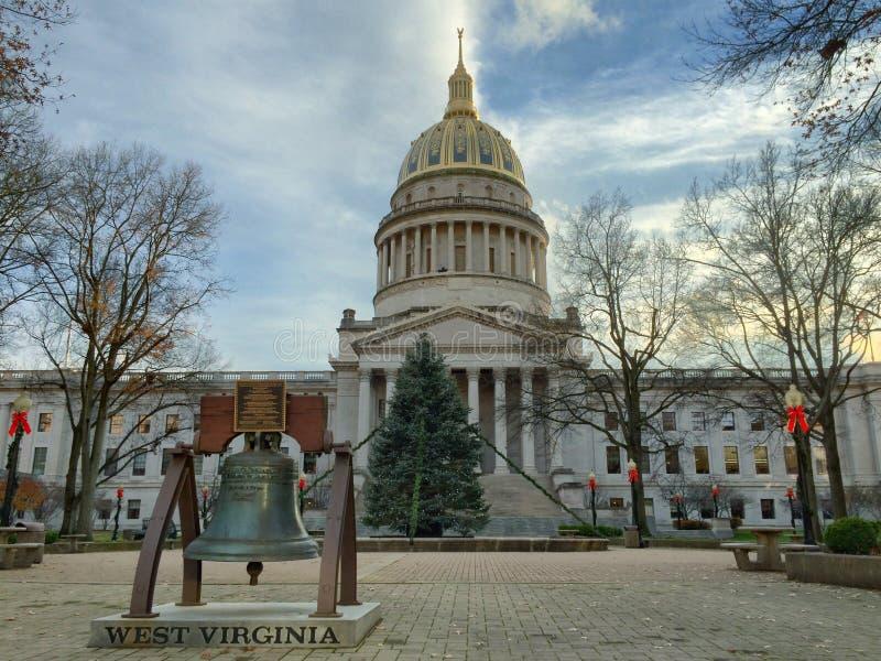 Staat West Virginia-Kapitol lizenzfreies stockfoto