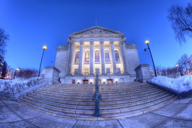 Staat Wisconsin-Kapitol, HDR lizenzfreie stockfotos