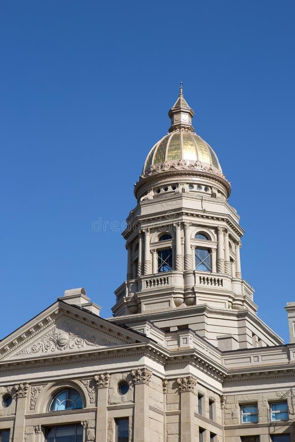 Staat Wyoming-Kapitol stockfoto