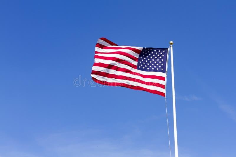 Staaten- von Amerikamarkierungsfahne lizenzfreie stockfotos