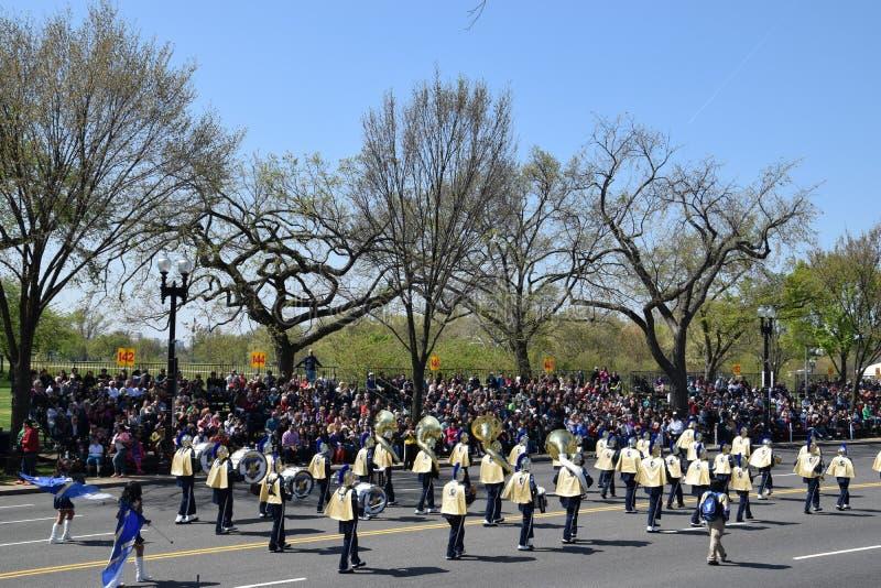 2016 Staatsangehöriger Cherry Blossom Parade im Washington DC stockbild