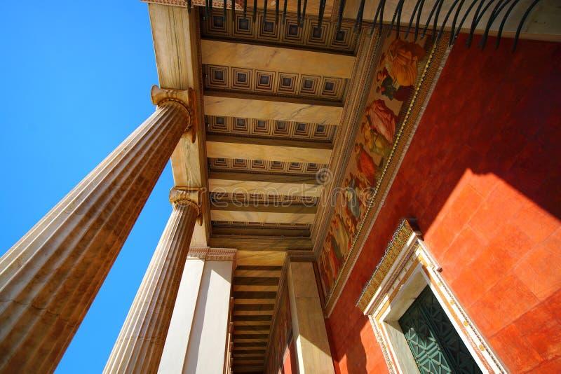 Staatsangehöriger und Kapodistrian-Universität stockfoto