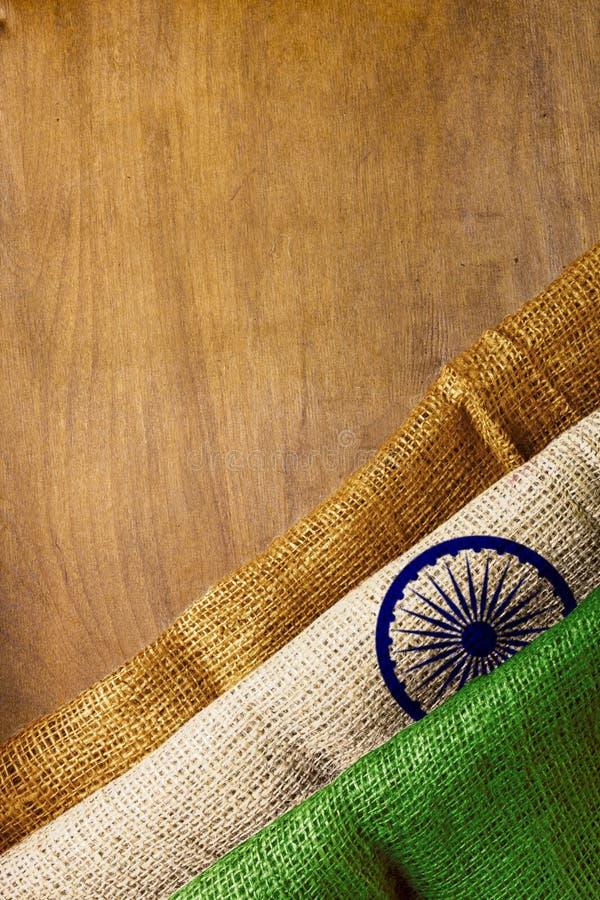 Staatsflagge von Indien stockfoto