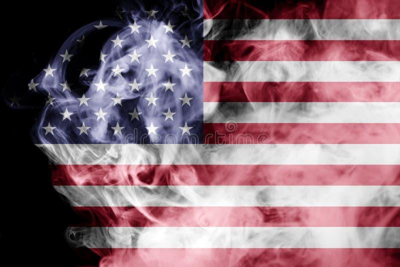 Staatsflagge von USA stock abbildung