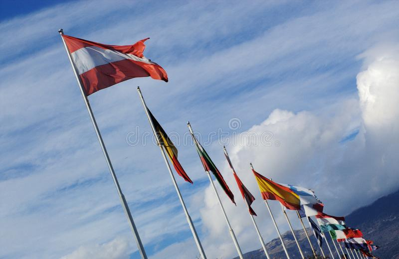 Staatsflaggen Kostenlose Stockfotos