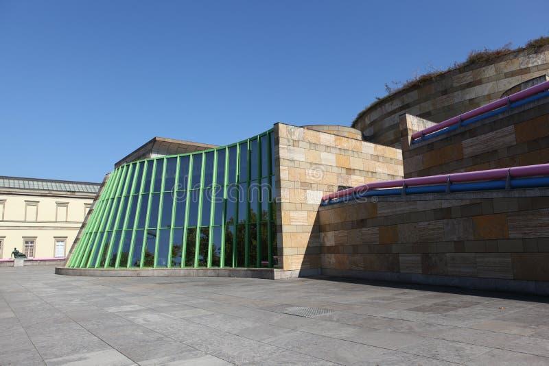 Staatsgalerie Stuttgart zdjęcia royalty free