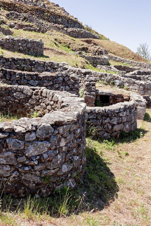 Stabilimento celtico a Pontevedra La Galizia spain fotografia stock libera da diritti