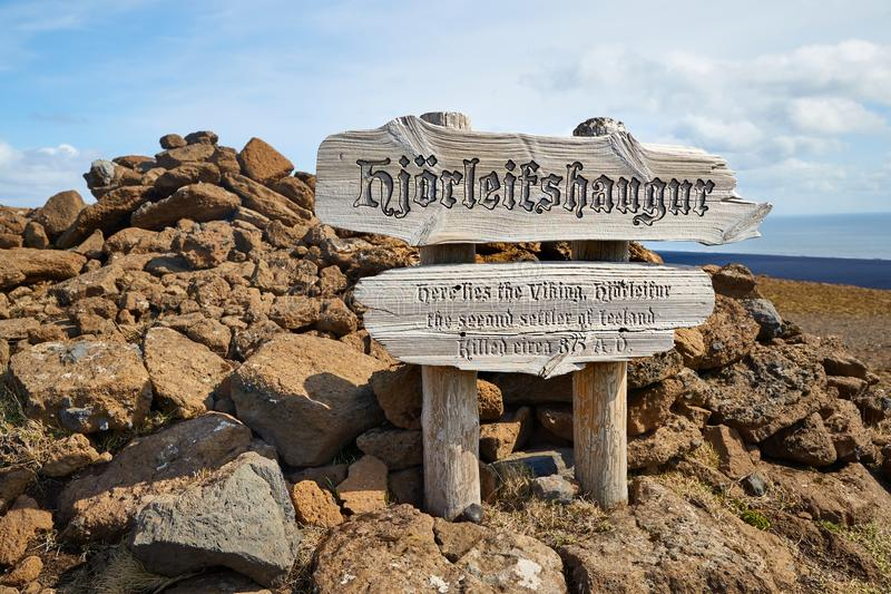 Stabilimento storico di Viking fotografia stock