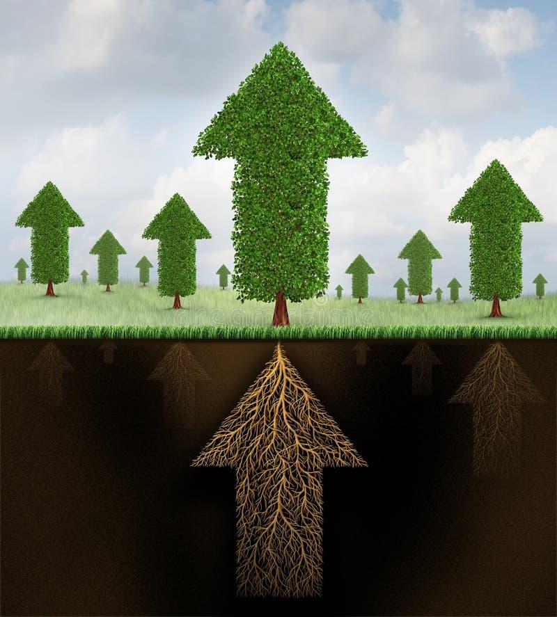 Stabilité financière illustration de vecteur