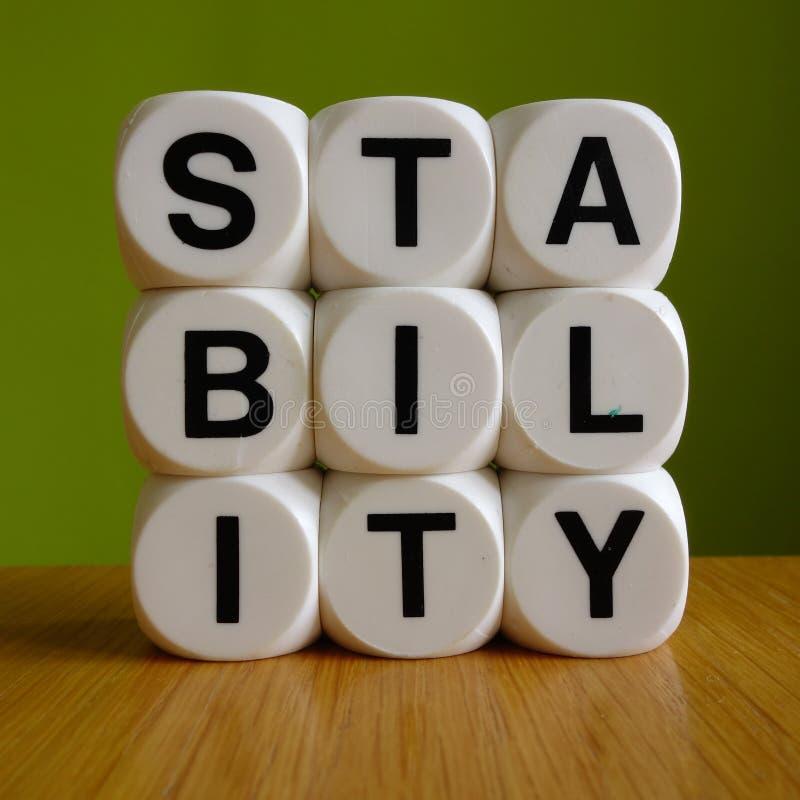stabiliteit royalty-vrije stock foto