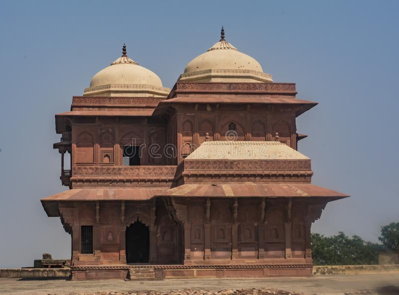 Fatehpur Sikri - ancient ruins in UP India royalty free stock photos