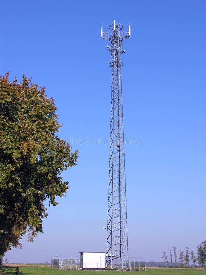 stacja gsm anteny fotografia royalty free