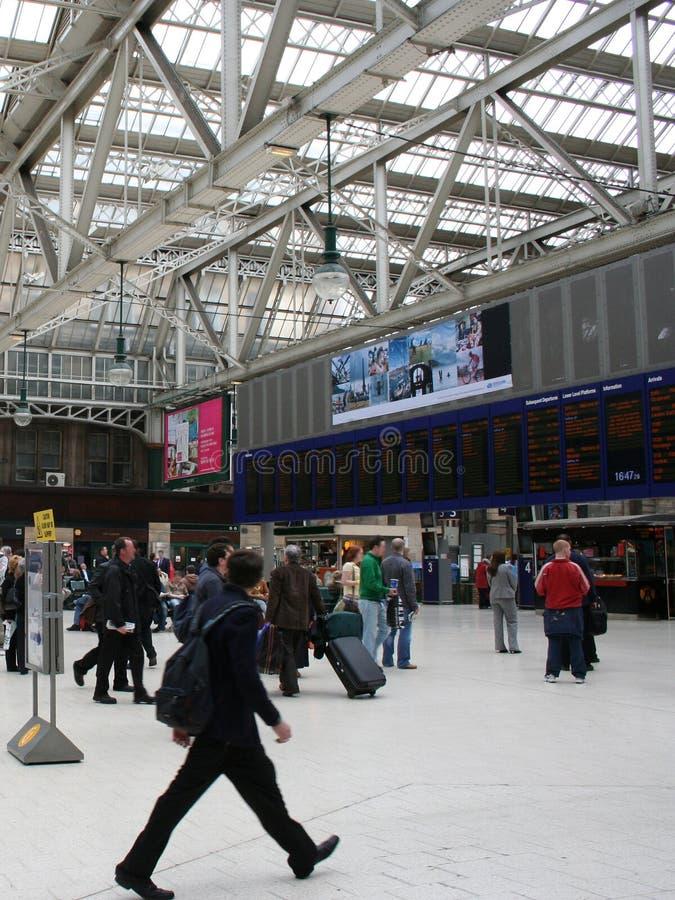 Stacja Kolejowa Wewnętrzna Obrazy Stock