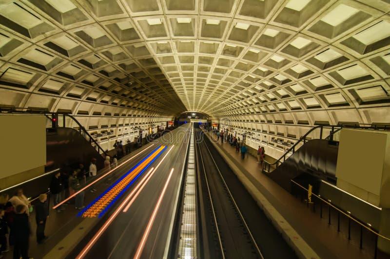 Stacja metru obrazy royalty free