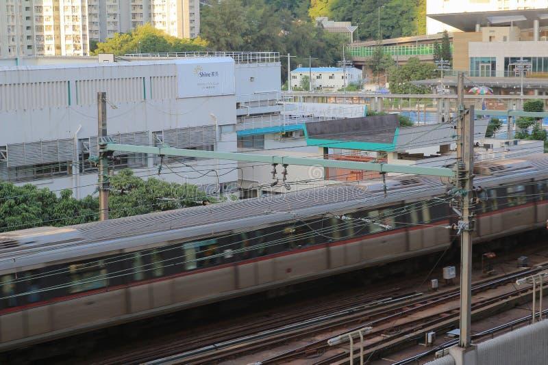 stacja przy kwun tong 22 2014 Aug fotografia stock